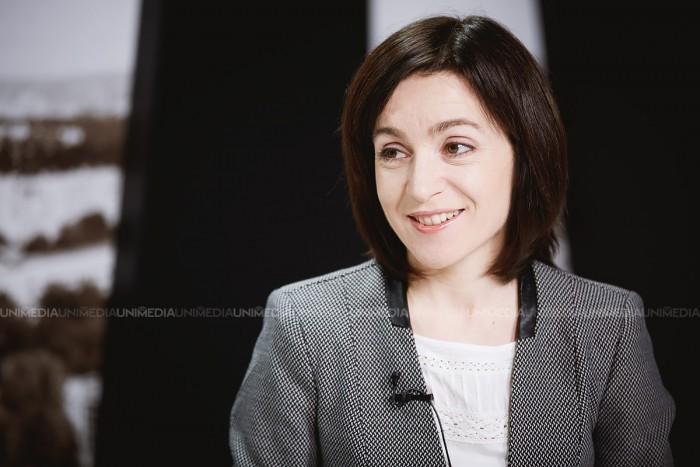 """Maia Sandu, despre promisiunea lui Candu: Este """"decizia suverană"""" a Uniunii Europene să accepte sau nu cererea de aderare a Moldovei la UE"""
