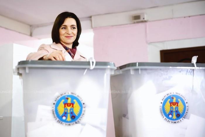 Maia Sandu, lider detașat în localitatea de baștină a lui Andrei Năstase