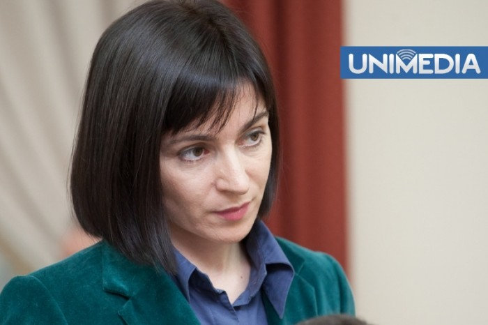 Discuții la Ministerul Educației,  cu elevii care i-au cerut demisia ministrului Maia Sandu