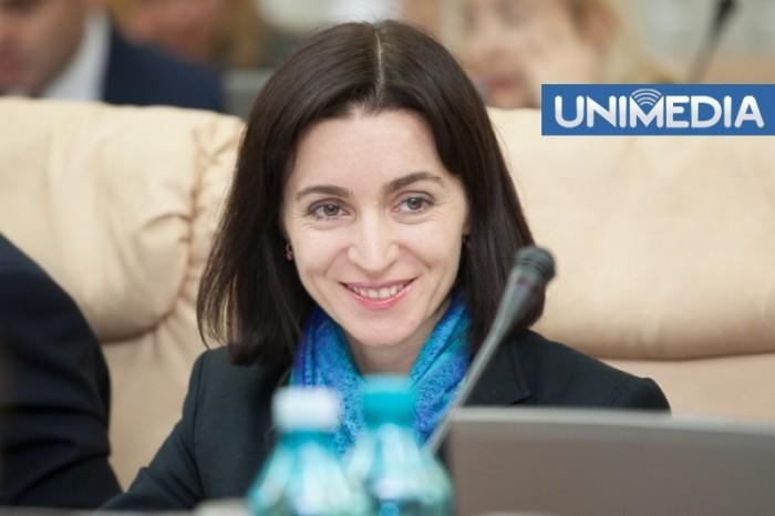 Maia Sandu își păstrează funcția de ministru al Educației