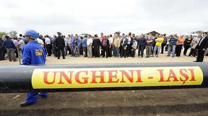 Moldova-Gaz întârzie funcționarea gazoductului Iași-Ungheni