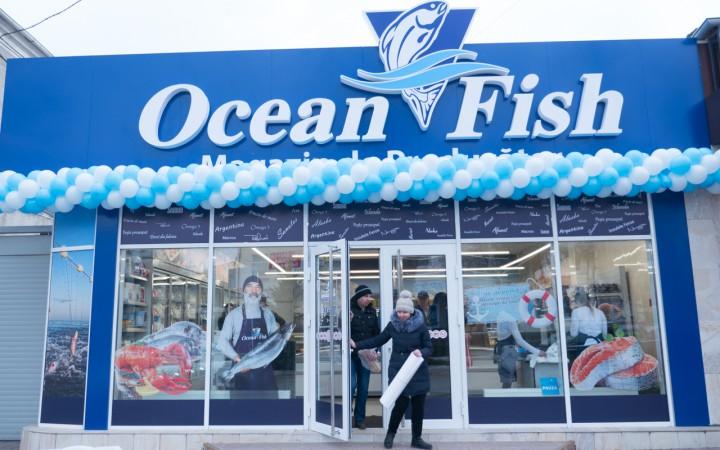 Ocean Fish aduce și la Orhei pește de calitate din toate oceanele lumii