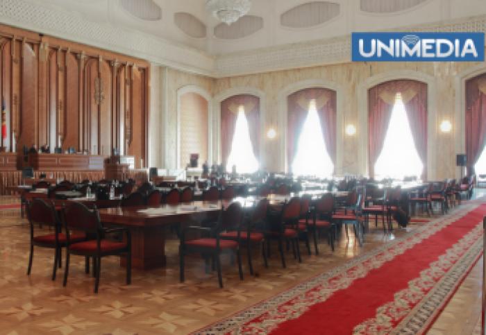 Parlamentul se convoacă în sesiune extraordinară