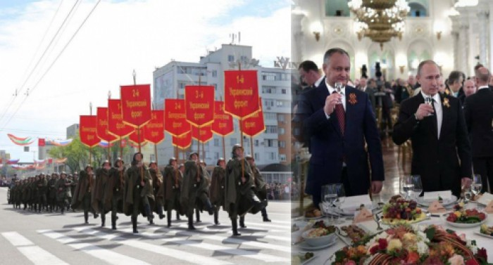 Partidul Liberal condamnă participarea trupelor ruse la parada de 9 mai din Transnistria: PL îl acuză pe Igor Dodon de trădare de patrie