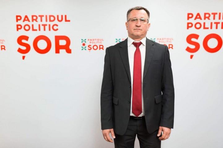 Pavel Verejan, candidatul Partidul Politic ȘOR la funcţia de primar al municipiului Bălți