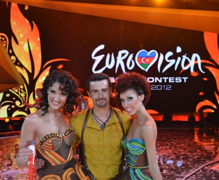 Pentruea.md: Pasha Parfeni – backing vocalist la Eurovision