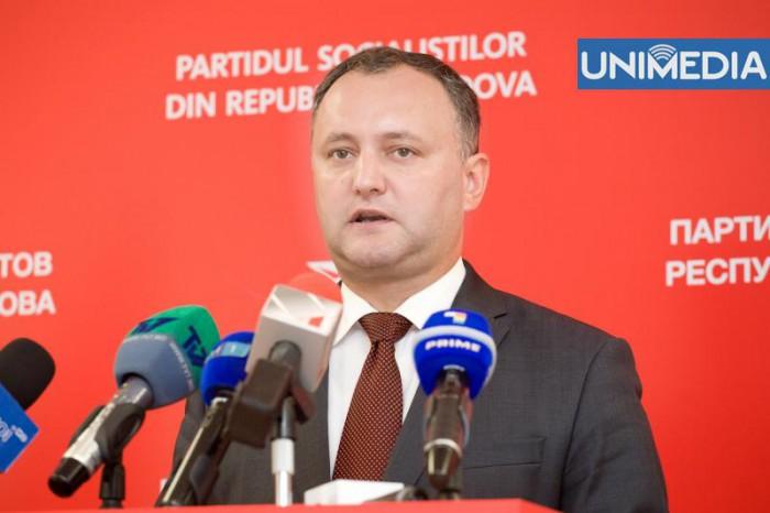 PSRM: Suntem unica formaţiune politică parlamentară de pe eşichierul politic de stânga