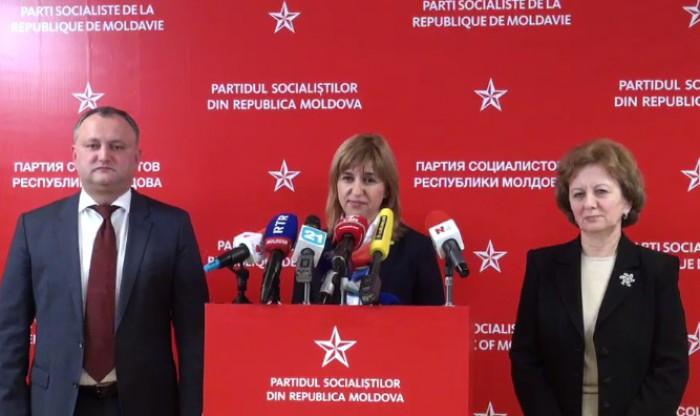 (video) PSRM va susține candidatura Irinei Vlah pentru funcția de bașcan al Găgăuziei