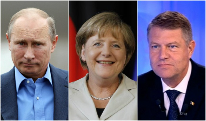 Putin, Merkel și Iohannis - liderii care se bucură de cea mai mare încredere din partea moldovenilor