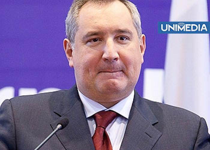 """Rogozin în PMAN: """"Cu ocazia Zilei Victoriei!"""""""