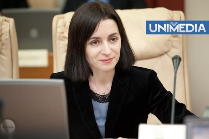 S-au răzgândit: Maia Sandu nu mai vine în Parlament