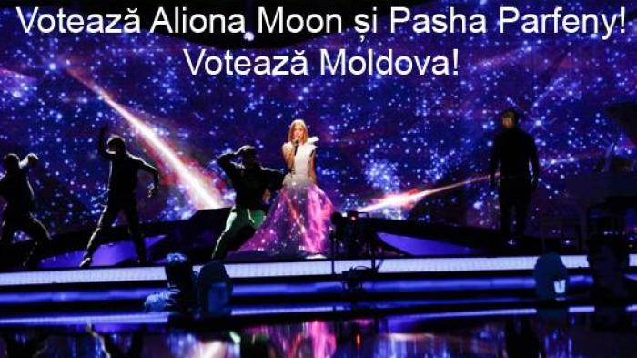 Semifinală Eurovision: Aliona Moon încearcă în această seară să câștige inimile europenilor