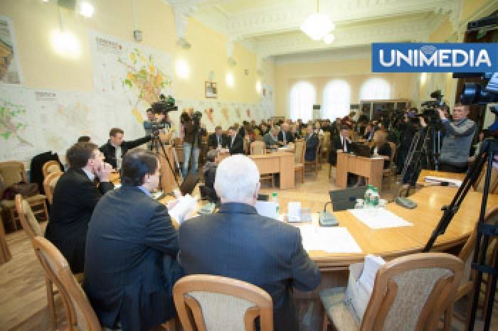 Subiectul demiterii lui Chirtoacă va fi discutat de consilierii municipali joia viitoare