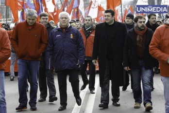 Tkaciuk nu vrea ca Voronin să plece: Doar el va readuce PCRM la guvernare!