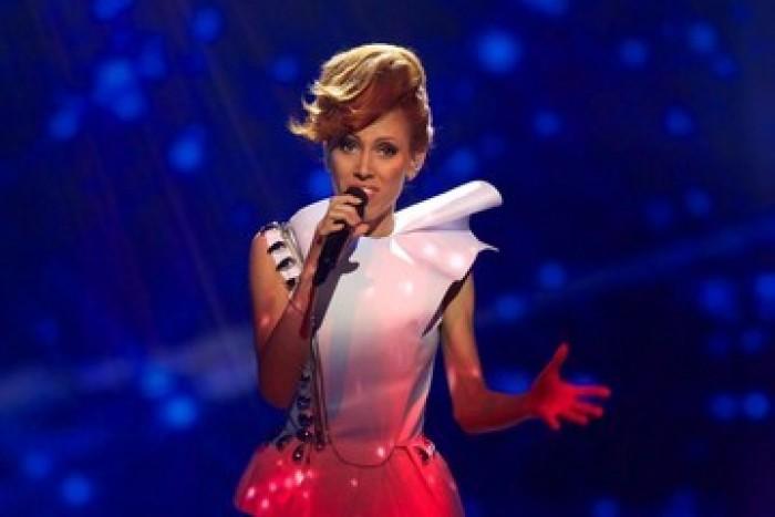 (video) Aliona Moon, în fruntea Topului celor mai bine îmbrăcați interpreți de la Eurovision