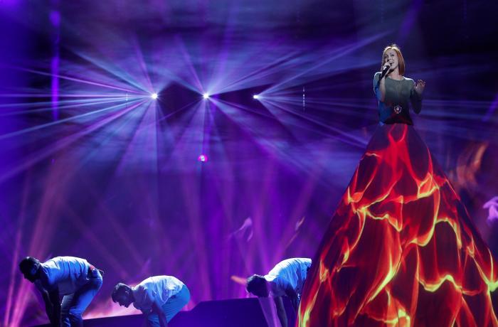 (video) Aliona Moon s-a clasat pe locul 11 la Eurovision cu un show excepțional