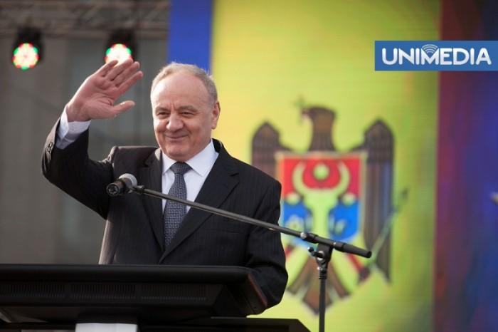 (video) Ce discursuri au rostit președintele țării și liderii coaliției de guvernare