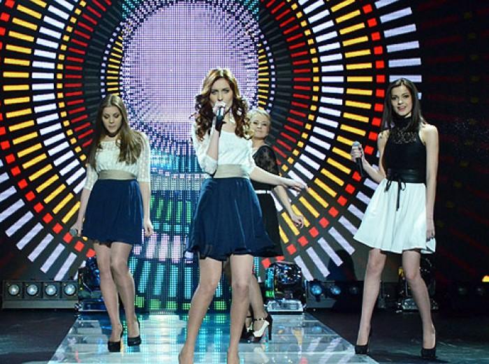 (video) Concurentele nr. 1 la Eurovision, etapa națională: Cristina V şi Glam Girls