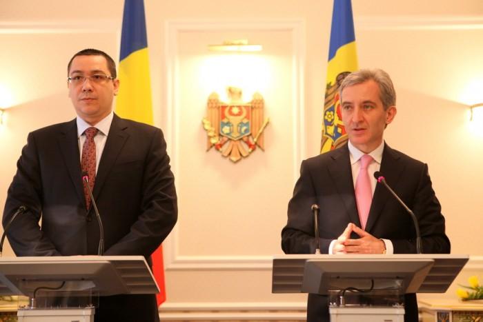 (video) Conferință de presă Leancă - Ponta: Lucrările la gazoductul Iași-Ungheni sunt extrem de avansate
