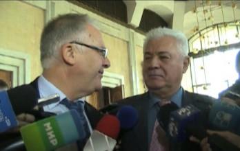 """(video) Diacov alături de Voronin: """"A fost bine la saună!"""""""