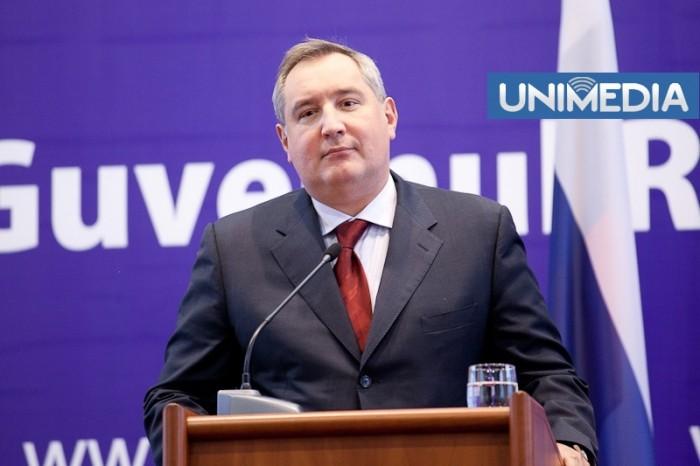 """(video) Ghimpu îl compară pe Rogozin cu un """"mijlocaș slăbuț"""""""