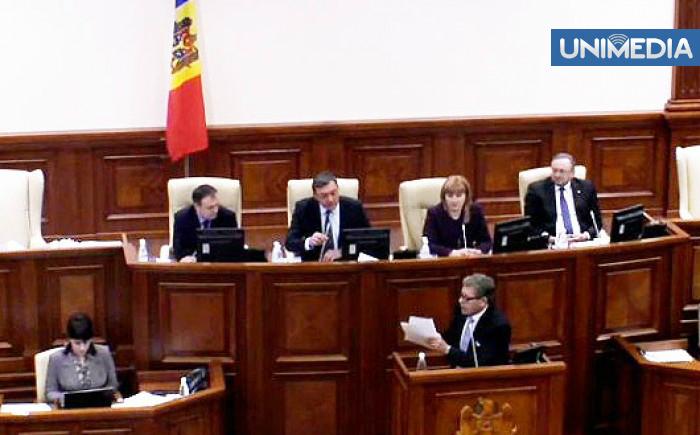 (video) Igor Corman: Ghimpu a blocat tribuna Parlamentului