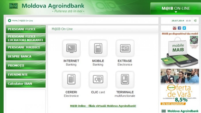 (video) Internet-Banking M@IB: Tranzacții, tarife și securitate