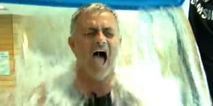 (video) Jose Mourinho se alătură campaniei ALS Ice Bucket