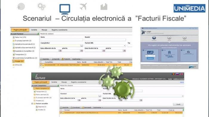 """(video) Guvernul a lansat serviciul """"e-Factura""""! Agenții economici vor putea emite și expedia facturile fiscale online"""