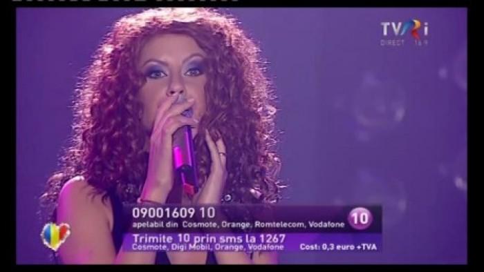 (video) Natalia Barbu nu s-a calificat în finala Eurovision România
