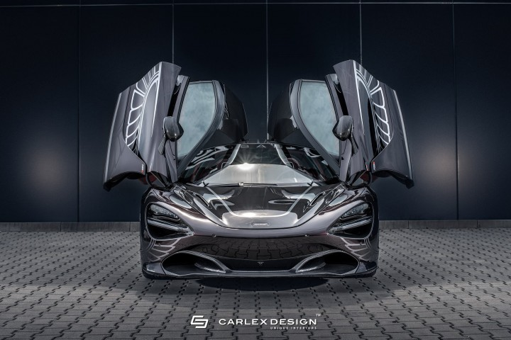 (video) Polonezii de la Carlex Design au modificat un supercar McLaren 720S şi arată fantastic