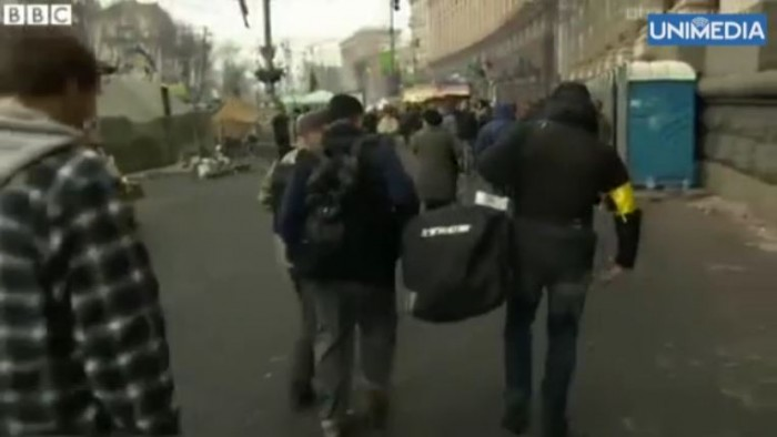(video) Regizorul moldovean la Kiev: Ucrainenii se întorc în țară