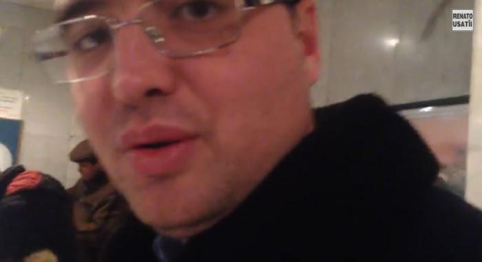 (video) S-a filmat în timp ce a votat. Cum a fost întâmpinat Usatîi la Moscova