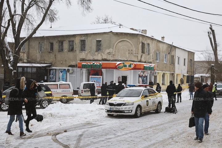 (video/update) Poliția a oferit noi detalii în urma exploziei din centrul capitalei: Cine este suspectul