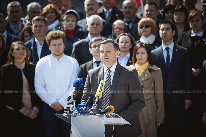 (video/update) Ultima oră! Andrei Năstase, anunțat candidatul comun PAS-PPDA la alegerile locale. Reacția democraților