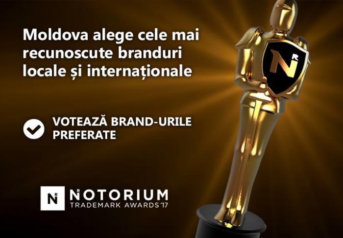 (video) Votează mărcile preferate în cadrul Concursului Notorium 2017