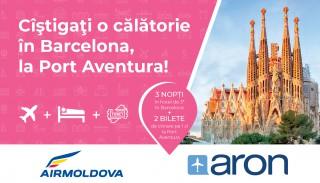 """Promoţie de la ARON.md """"Câştigaţi o călătorie în Barcelona, la Port Aventura"""""""