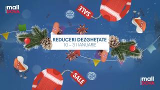 În ianuarie la Shopping MallDova ninge cu reduceri de până la 70%