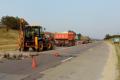S-a umflat șoseaua. Circulația transportului pe traseul M-14 Brest-Briceni-Chișinău-Tiraspol-Odesa, blocată