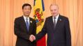 """Ambasadorul chinez a fost decorat cu """"Ordinul de Onoare"""" de către președintele Republicii Moldova"""