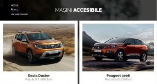 AUTOVOT MOLDOVA 2018! Duelul din runda II: Dacia Duster vs Peugeot 3008!