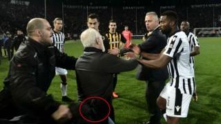 (video) Campionatul Greciei de fotbal a fost suspendat după incidentele de la partida PAOK - AEK