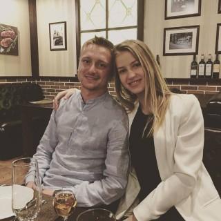 Danu Spătaru nu mai este burlac! Fotbalistul moldovean și-a cerut iubita de nevastă la Roma
