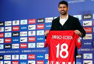 Diego Costa a revenit la Atletico! Atacantul spaniol a fost prezentat oficial de madrileni