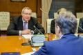 Evghenii Șevciuk din nou la sfat cu Dmitryi Rogozin la Moscova