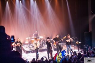(foto) Atmosferă incendiară la concertul Zdob și Zdub, susținut la Montreal