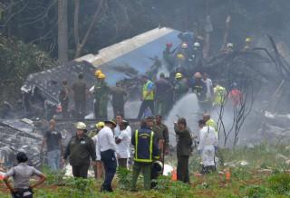 (foto) Avion prăbușit în Cuba: Peste 100 de morți, iar trei persoane, duse la spital în stare gravă