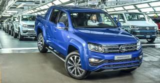 (foto) Cel mai puternic VW Amarok a intrat pe linia de asamblare