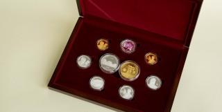 (foto) Noi monede comemorative și jubiliare puse în circulație de BNM: Monede dedicate Centenarului Unirii, lui Eugen Doga și Mariei Drăgan