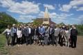 (foto) O delegație de suedezi au mers pe urmele regelui Carol al XII-lea al Suediei, la Varniţa